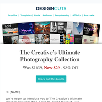 98% Off The Creative's Ultimate Photography Collection