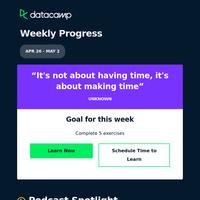 DataFramed, the DataCamp podcast is back! 🎙