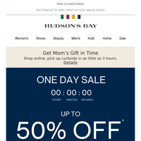 ENDS SOON: One Day Sale on sleep/loungewear