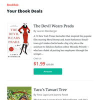Your ebook bargains for Wednesday