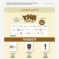 3 HARI LAGI! Belanja di Beauty Studio THR Sale Untuk Dapat Penawaran Terbaik!