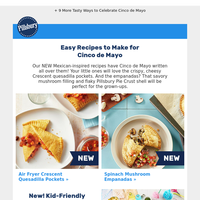 New! Air Fryer Crescent Recipe for Cinco de Mayo