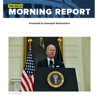 The Hill's Morning Report - Presented by Emergent BioSolutions - 1/ Biden uses July 4 inducements, new 70 percent goal to encourage COVID-19 vax ahead of summer. 2/ Vaccination bait: free beer and $100 bonds. 3/ McCarthy says he has 'lost confiden