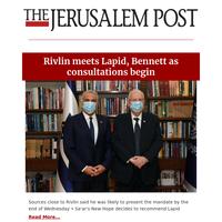 Rivlin meets Lapid, Bennett as consultations begin