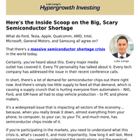 The Big, Scary Semiconductor Shortage