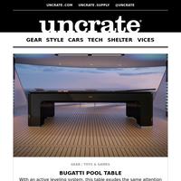 Bugatti Pool Table & more