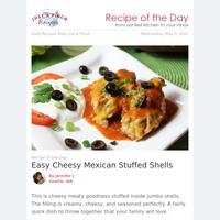 Mexican Stuffed Shells for Cinco de Mayo