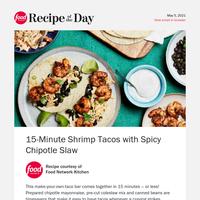 15-Minute Shrimp Tacos Our Fans LOVE