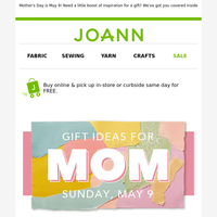 There's still time to make something for Mother's Day!