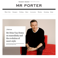 Inside the stylish mind of Mr Dries Van Noten