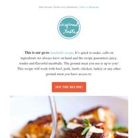 New Recipe! Tender Juicy Meatballs
