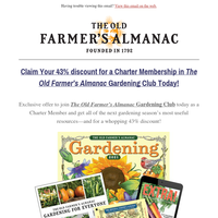 Last Chance: Please Claim Your Charter Membership Today!