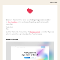 Inspiration Only: Mesh Gradients and 5 more