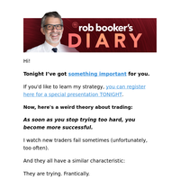 Rob's Diary:  🔥 A weird trading thing (open up)