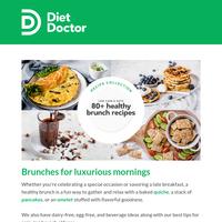 Breakfast + lunch = brunch!