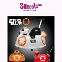 Spoil Your Little Ones with an Electric Toy Car Star Wars BB8 with Remote Control Only for 28.9KD
