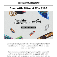 Shop with Affirm & Win $100