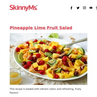 Pineapple Lime Fruit Salad