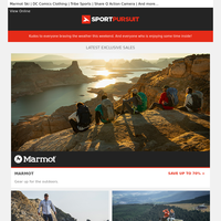 Up to 70% Off: Marmot | Musto | Hannah Clothing | Phoenix Fitness Gym Equipment | Lake Cycling Footwear