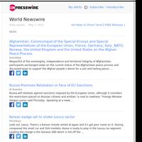 World News (Fri 07 May 2021)