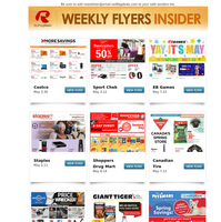 All-New Flyers from Costco and Canadian Tire, Shoppers Drug Mart Bonus Redemption Event, Sport Chek Extended Doorcrasher Deals, PetSmart Spring Savings + Grocery Flyers from Metro, No Frills, Walmart & More