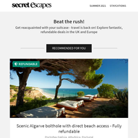 Stunning coastal views from a modern Algarve retreat