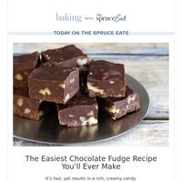 The Easiest Chocolate Fudge Recipe You'll Ever Make