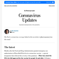 Coronavirus Updates: About that post-vaccine drink