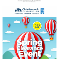 Spring Clearance Event - Over 1,000 Deals