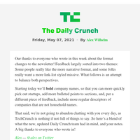 Daily Crunch - A huge fintech exit as the week ends