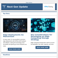 Edge Computing Deployments Go Mainstream