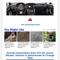 Hey, Your Top Automobile News for May  08, 2021
