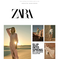 Slip into Spring: The dress collection is here
