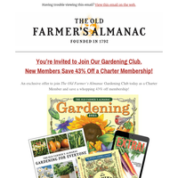 Last Chance: You Are Invited to Enjoy All the Benefits of Gardening!