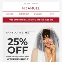 Our Bestselling Wedding Rings 🤵 👰