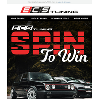 Spin To Win 10K  - ECS Tuning Spring Sweepstakes!