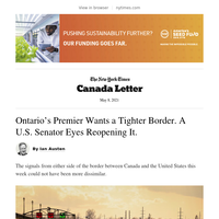 Canada Letter: What will it take for the Canada-U.S. border to reopen?