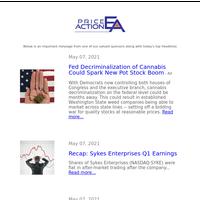 Fed Decriminalization Could Spark New Pot Stock Boom