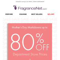 30% OFF Fragrance & Beauty & more...