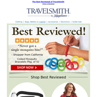 The Best-Reviewed Gear from TravelSmith ~ Travel Happy!