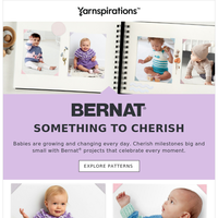 NEW Crochet and Knit Baby Patterns Inside!
