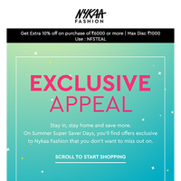Inside: Exclusive Offers on Nykaa Fashion