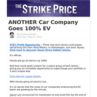 ANOTHER Car Company Goes 100% EV
