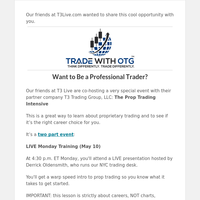 Want to Be a Professional Trader?