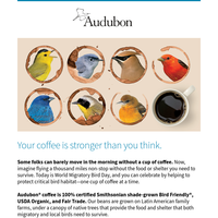 Wake Up and Smell the Bird-Friendly Coffee