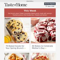 60 Spring Baking Recipes for Brunch