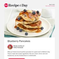 5-Star Blueberry Pancakes