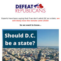 Should DC become a state?