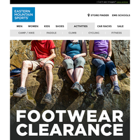 CLEARANCE: Hiking Boots, Shoes, Trail Running, Sandals & MORE