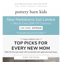 Happy Mother's Day! 🌷 Our top picks for new moms